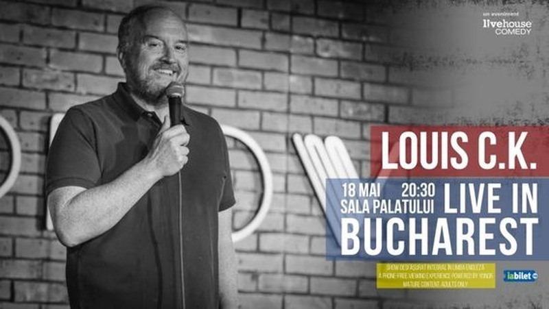 louisck-bucuresti