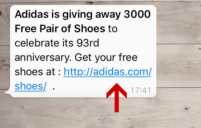adidas-scam