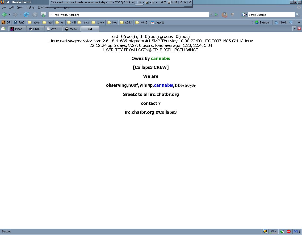 fai.ro hacked