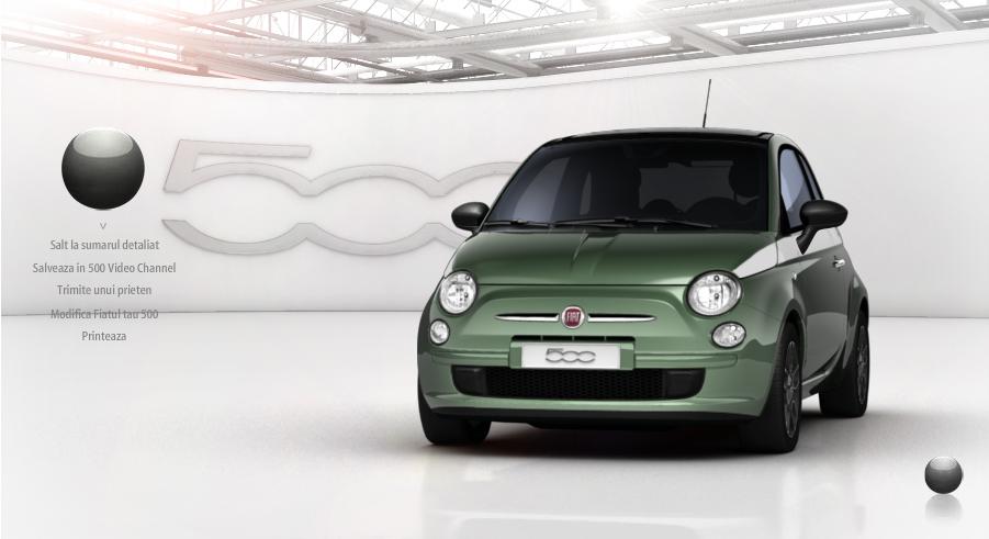 Fiat 500 testdrive