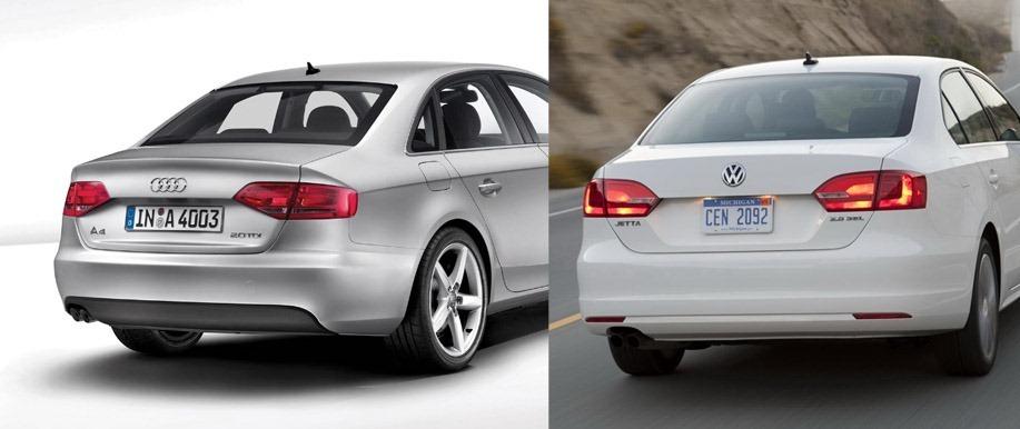 Audi A4 2008 Vs  Vw Jetta 2010  U22c6 Zoso Blog