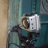 GoPro Hero2 HD montat pe bicicletă - vedere lateral