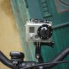 GoPro Hero2 HD montat pe bicicletă - vedere faţă