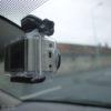 GoPro Hero2 HD în maşină