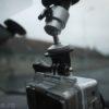 GoPro Hero2 HD - ventuză mică şi prindere cu cap trepied
