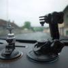 GoPro Hero2 HD - ventuză mică vs. ventuză motorport