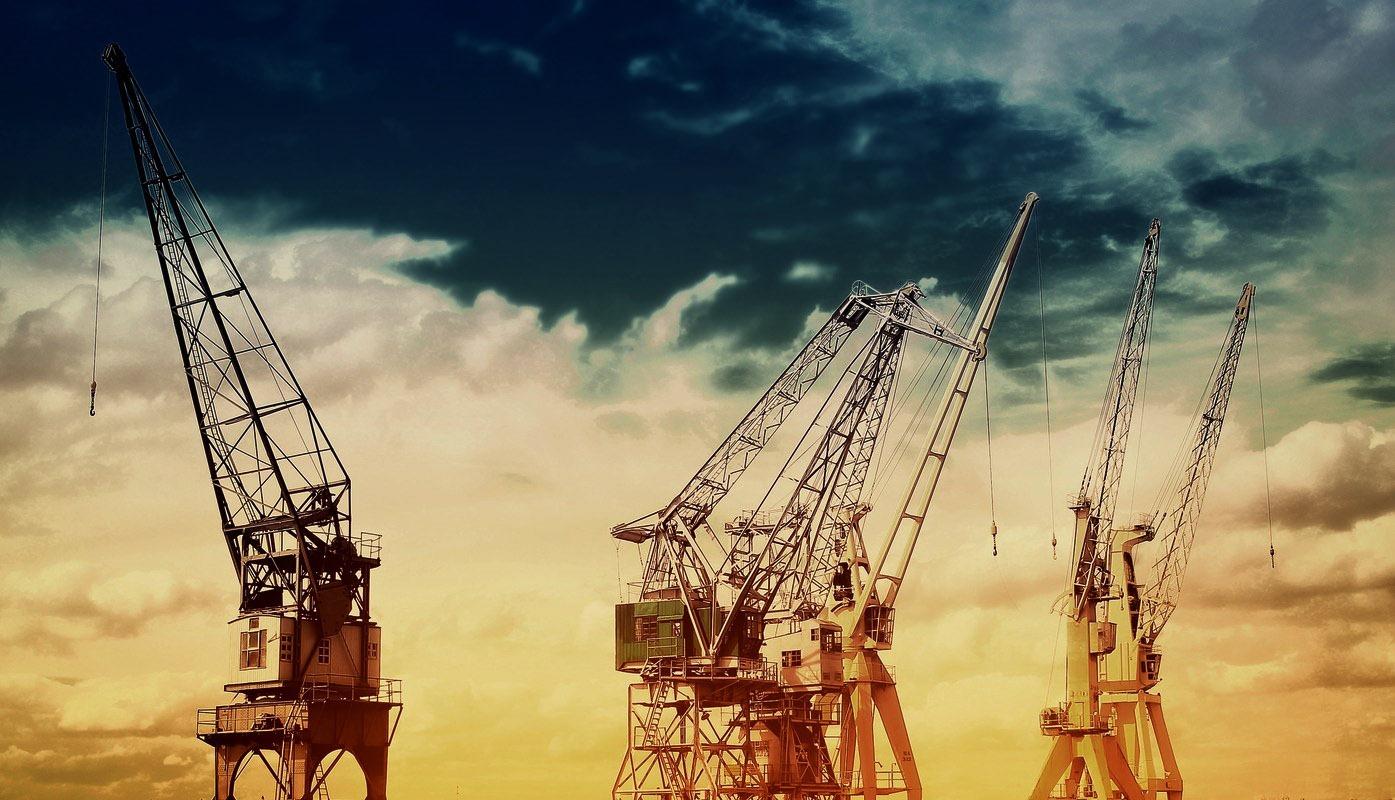 Cranes at Port