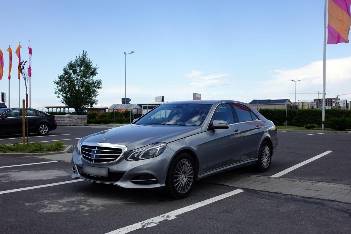 Mercedes Benz E-Klass 2015 testdrive
