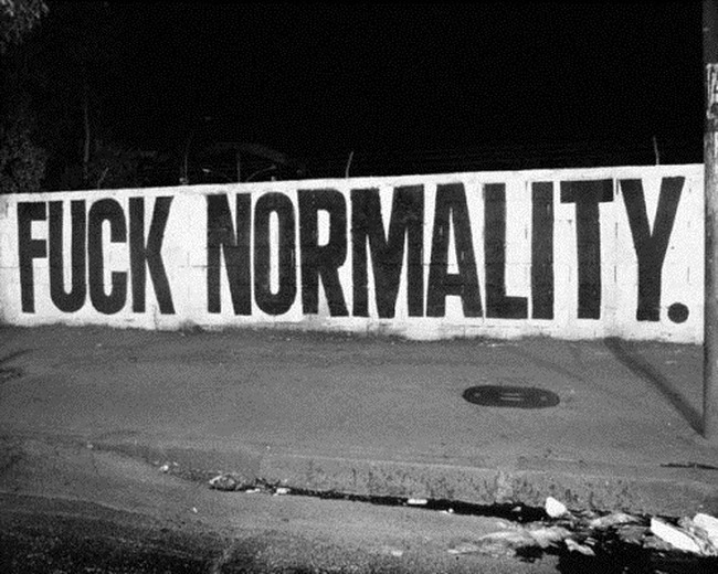 say-fuck-normality