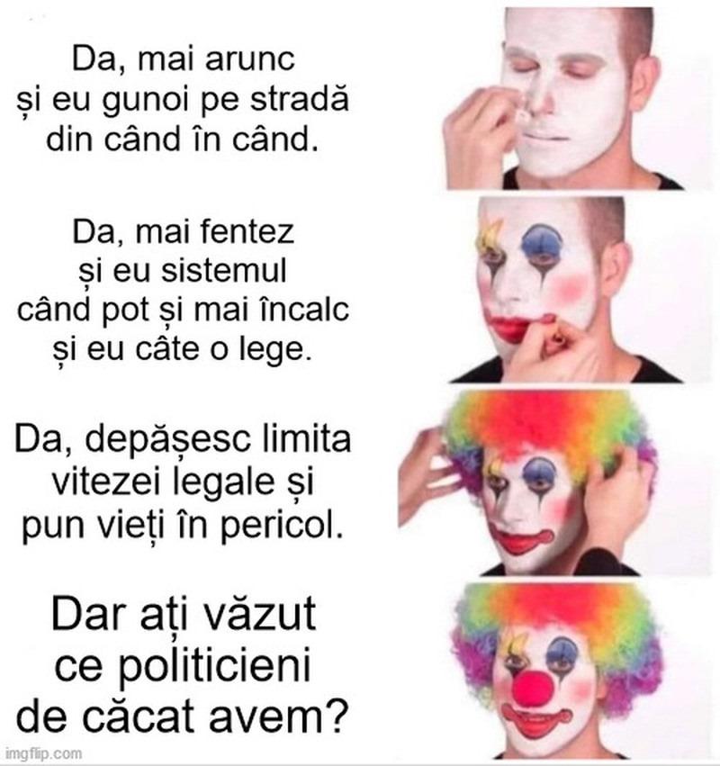 politica-politicieni-clovn
